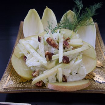 Waldorf Salad for the Mad Men Finale Party