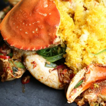 Singapore Chili Crab at Anqi