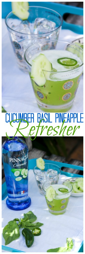 Cucumber Basil Refresher