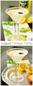 Limoncello Lemon Meringue Martini,