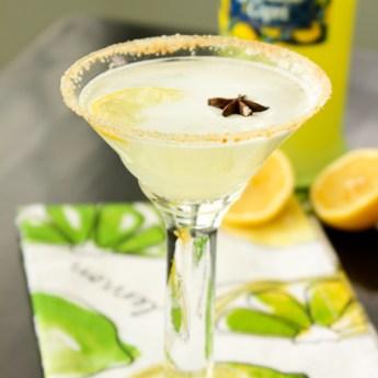 Luscious Lemon Meringue Cocktail