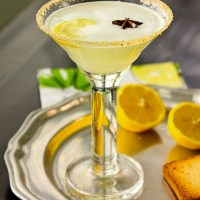 Luscious Lemon Meringue Cocktail