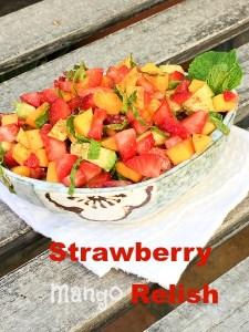 Strawberry Mango Relish