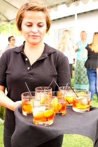 Southern Belle Negroni - The Ranch Restaurant and Saloon