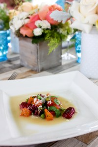 Scarlet Beet Gnocchi, The Ranch Restaurant