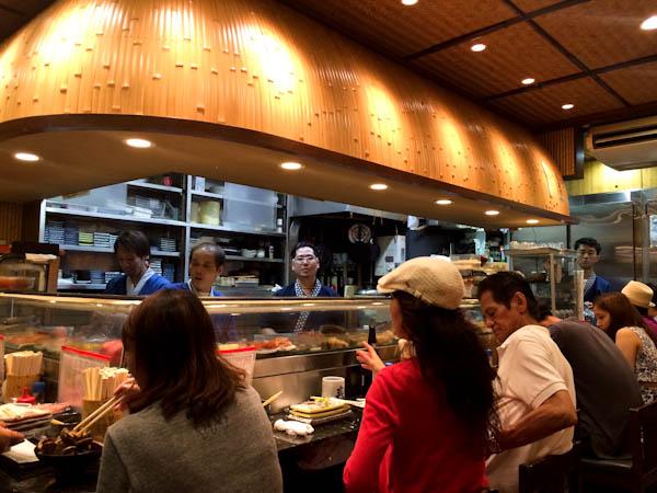 Harukoma sushi, Osaka