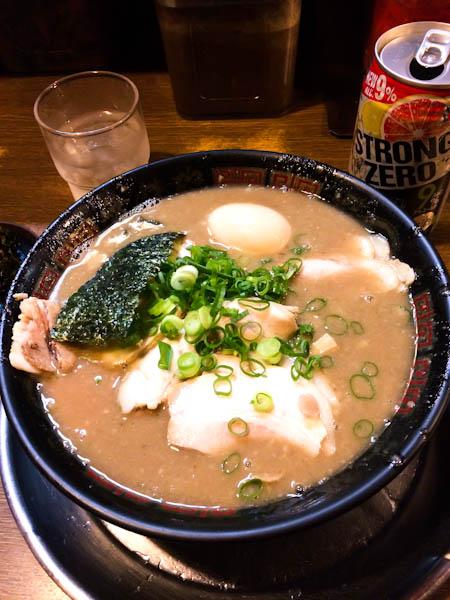Tonkotsu ramen, Osaka food