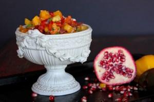 Ottolenghi's Tomato & Pomegranate Salad | ShesCookin.com
