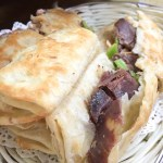 Donkey meat sandwich - Beijing | ShesCookin.com