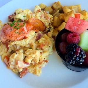 Lobster & Chorizo Scramble   ShesCookin.com