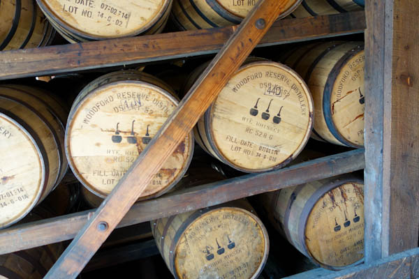 Woodford Reserve Barrel Room | ShesCookin.com