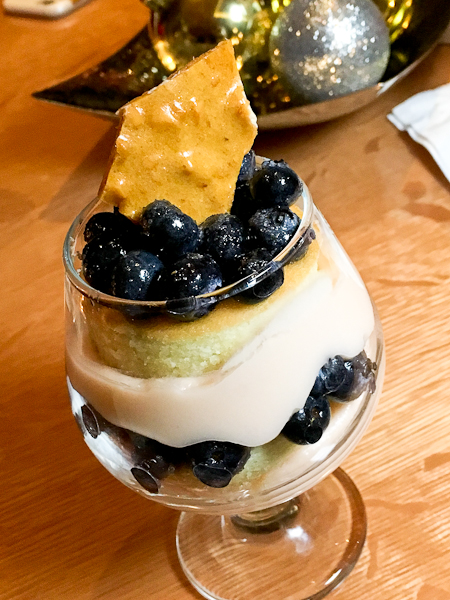 Blueberry Trifle | ShesCookin.com