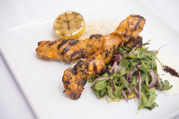 Zov's Grilled Chicken Kebab