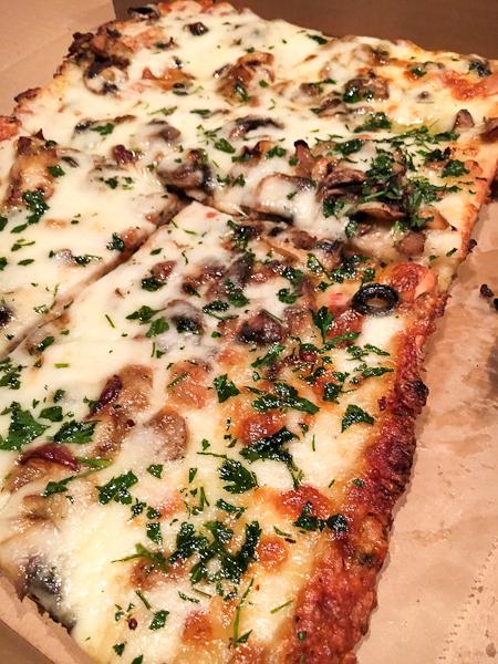 Doppio Zero Truffle Porcini Pizza | ShesCookin.com