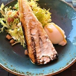 Frisée Poached Egg Salad | ShesCookin.com