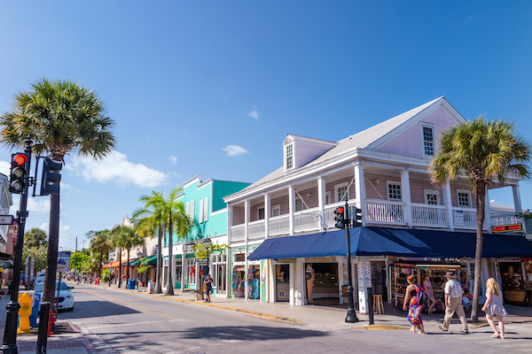 Street in Key West | ShesCookin.com