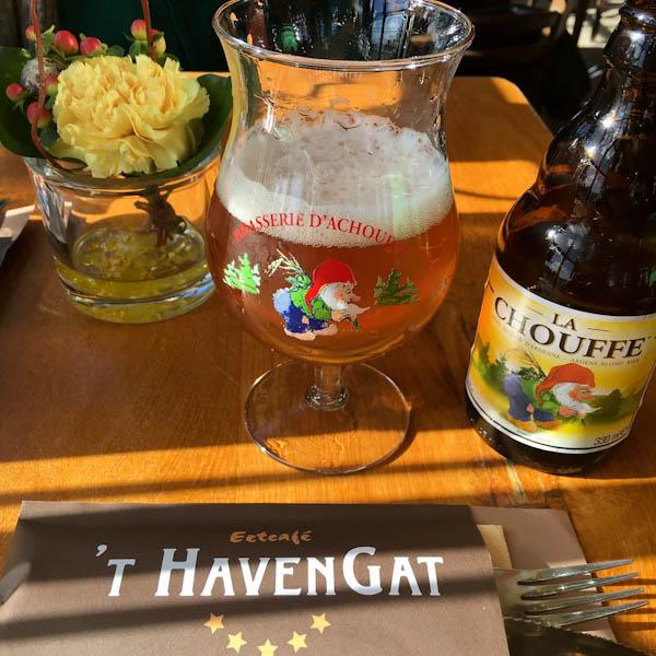 La Chouffe Belgian beer | ShesCookin.com