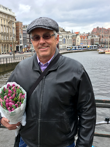 Tulips for our room - Amsterdam | ShesCookin.com