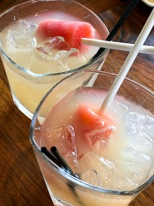 White Sangria - Del Frisco's Weekend Brunch | ShesCookin.com