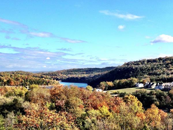 Fall on the lake, - Eureka Springs, Arkansas | ShesCookin.com