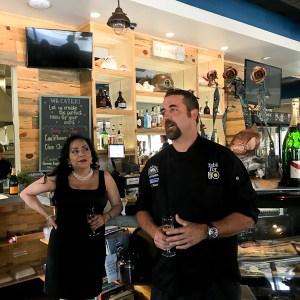 Chef Adam Navidi and GM Barbara Wheatley - Oceans and Earth | ShesCookin.com
