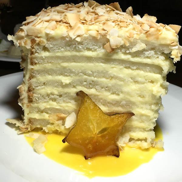 Coconut Cake - Ritz Prime Seafood | ShesCookin.com