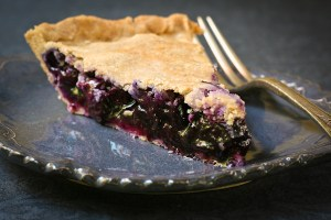 Homemade Blueberry Pie - glutenfree, sugarfree, healthy recipe