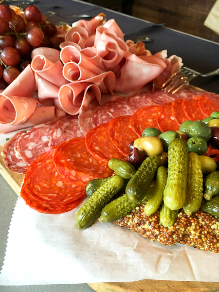 Charcuterie platter - Ironwood Cellar. Craft . Cook | ShesCookin.com