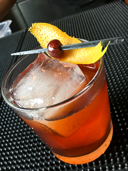 Don't Rye About It | vanilla infused rye whiskey, apparel, sweet vermouth