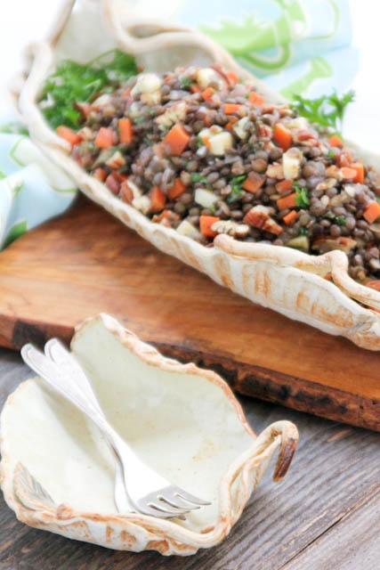 French Lentil Salad | ShesCookin.com