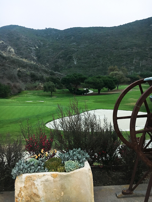 Ben Brown's Golf Course, The Ranch, Laguna Beach | ShesCookin.com