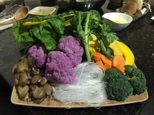 vegetable plate, True Seasons Organic Kitchen | ShesCookin.com