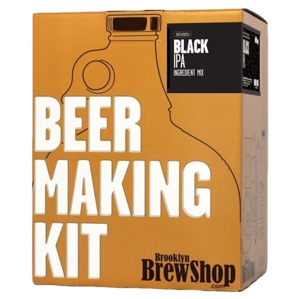 Holiday Gift Ideas for Booze and Beer Enthusiasts, Brooklyn Brew Beer Making Kit