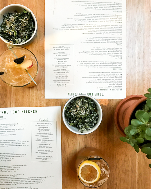 True Food Kitchen, Tuscan Kale Salad