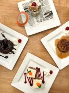 Back Bay Bistro desserts