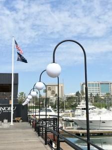 JSH Marina Cafe, Newport Marina Village, Noburo JR Pass,
