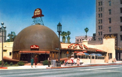 Brown Derby, Wilshire Blvd. Los Angeles