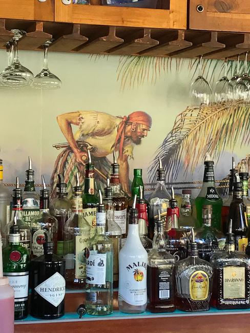 Bootlegger Bar at The Beachcomber Cafe | ShesCookin.com