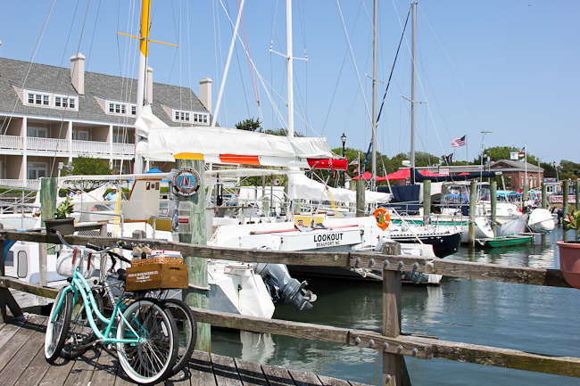 Beaufort, North Carolina marina | ShesCookin.co