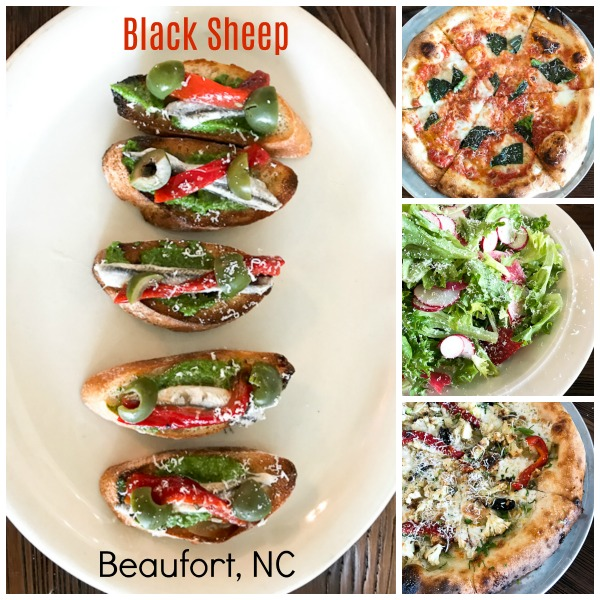Black Sheep brick oven pizza, Beaufort North Carolina | ShesCookin.com