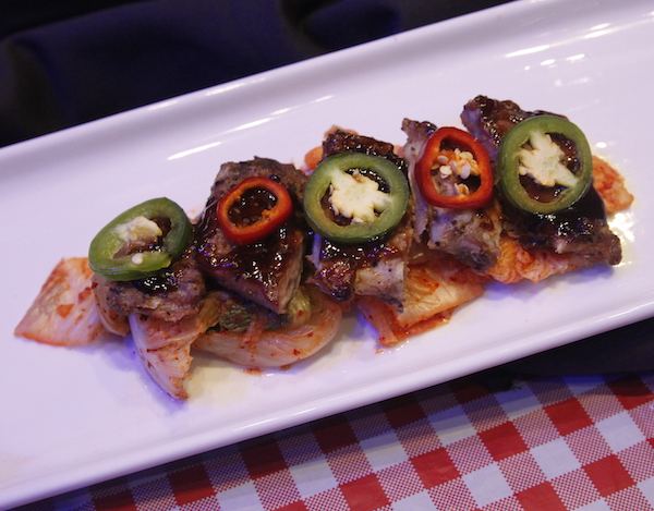 Korean BBQ Riblets, House of Blues Anaheim