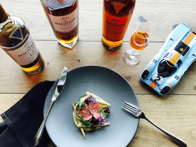 Porsche Macallan Whiskey Dinner