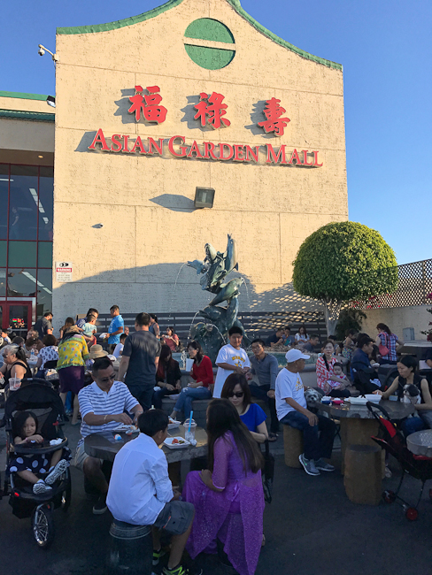 Asian Garden Mall, Little Saigon Night Market