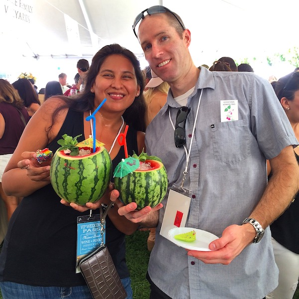 Cruzan Rum Watermelon Cocktail_NBWFF 2015