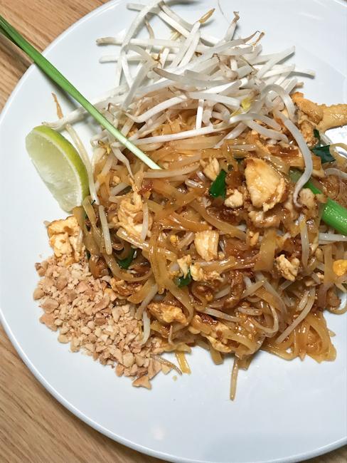 Pad Thai, Mai Thai restaurant | ShesCookin.com