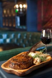 The Country Club Tomahawk Steak, Photo Credit Alan De Herrera