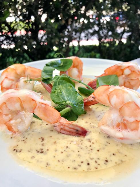 Pommery Shrimp, Spaghettini Seal Beach | ShesCookin.com
