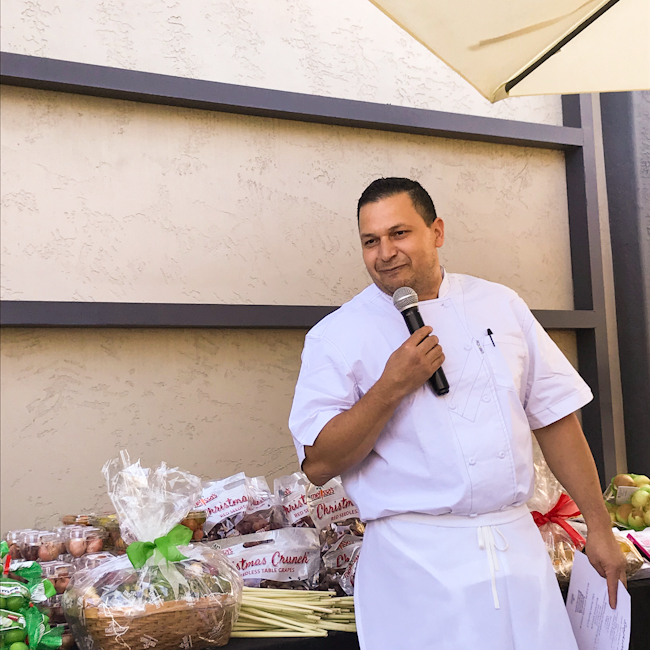 Chef Victor Avila, Spaghettini Seal Beach   ShesCookin.com
