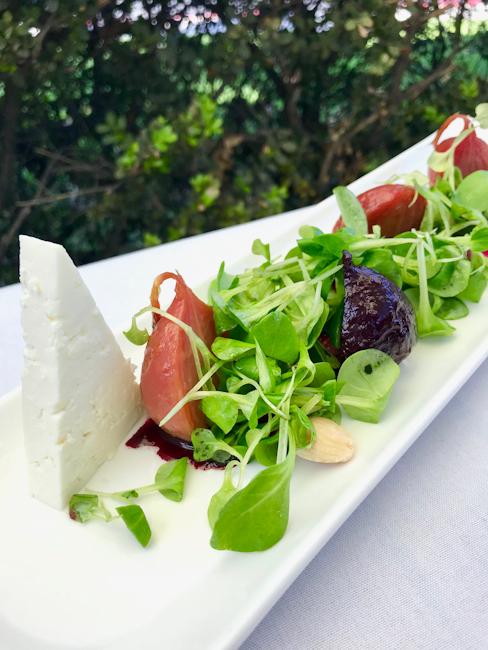 Beet Salad with Feta, Spaghettini Seal Beach   ShesCookin.com