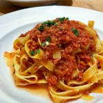 Tagliatelle Bolognese | ShesCookin.com
